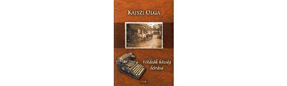 Kajszi Olga könyvének könyvbemutatója